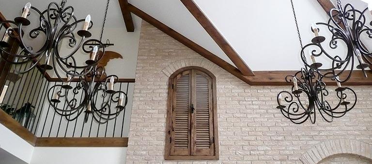 Persjany drewniane na wymiar - DrewKol Zakład Stolarski Antoni Tadeusz Kolaja - producent kompleksowego wystroju wnętrza ze szlachetnego drewna oraz materiałów drewnopochodnych