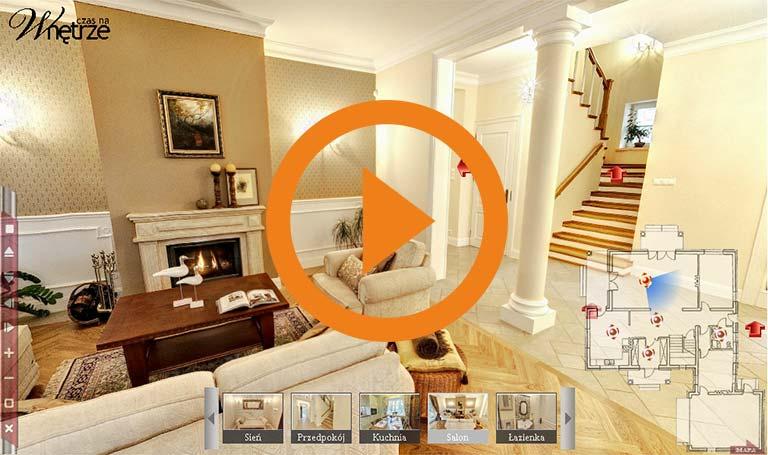 Kompleksowe aranżacje domu - interaktywny spacer 3d - DrewKol Zakład Stolarski Antoni Tadeusz Kolaja