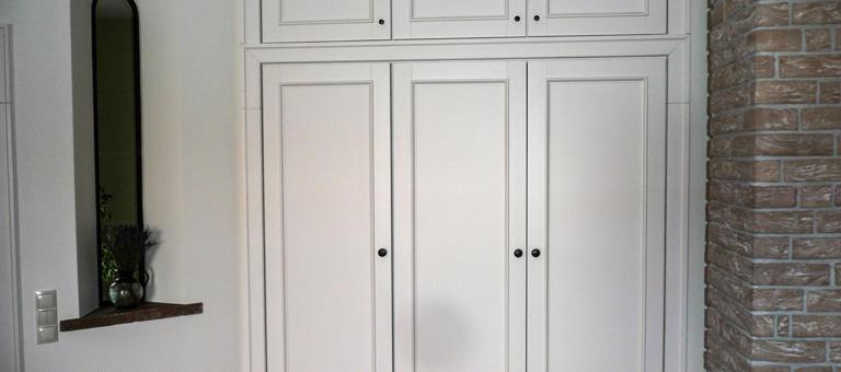 Szafy wnękowe na wymiar, szafy na wymiar - DrewKol