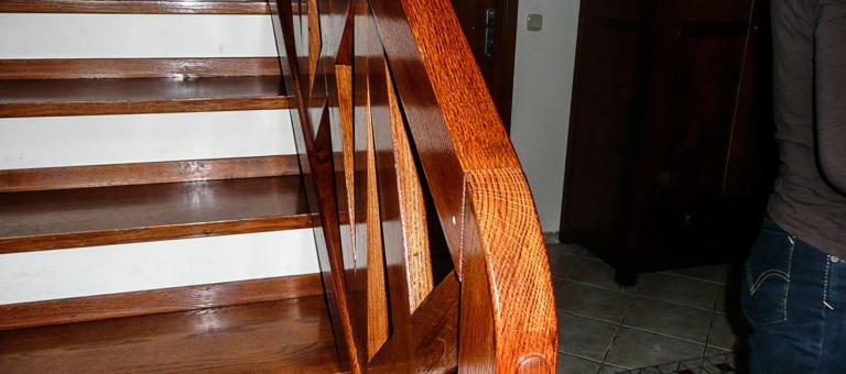 Drewniane schody na wymiar - DrewKol